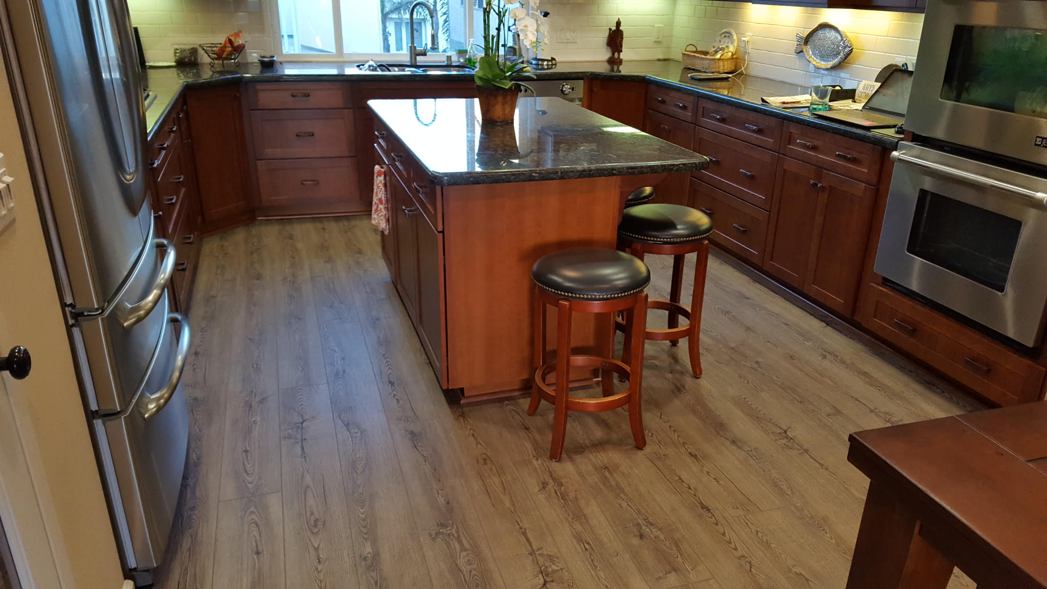 waterfront flooring floor interiors portfolio tile luxury coretec items vinyl img hdr degraaf oak